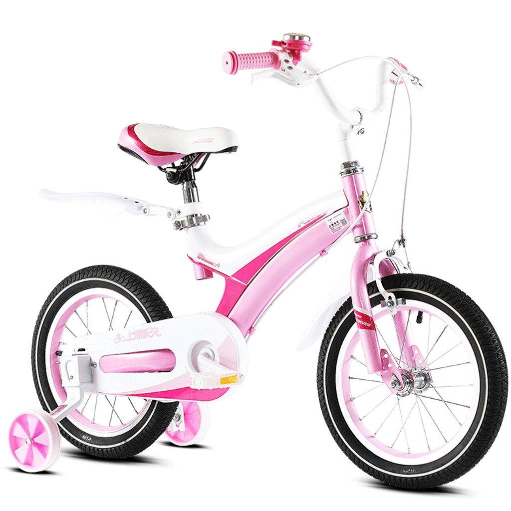 子供の自転車2-12歳の赤ん坊の子供のペダル自転車の少年の少女の赤ちゃんの運送 (色 : ピンク ぴんく, サイズ さいず : 16 inches) B07D8S4D95 16 inches|ピンク ぴんく ピンク ぴんく 16 inches