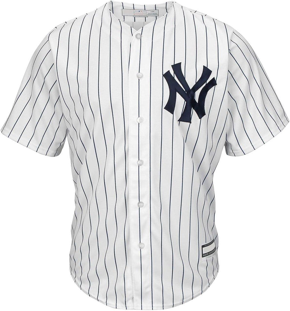 Babe Ruth New York Yankees MLB Boys Youth 8-20 Player Jersey