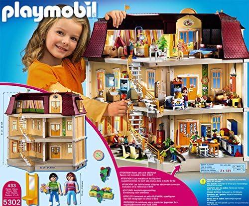 Amazon.es: PLAYMOBIL - Mi Gran casa de muñecas (5302): Juguetes y juegos