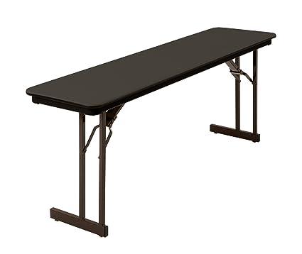 Outstanding Mitylite Abs Table 18 X 72 Black Interior Design Ideas Gentotryabchikinfo