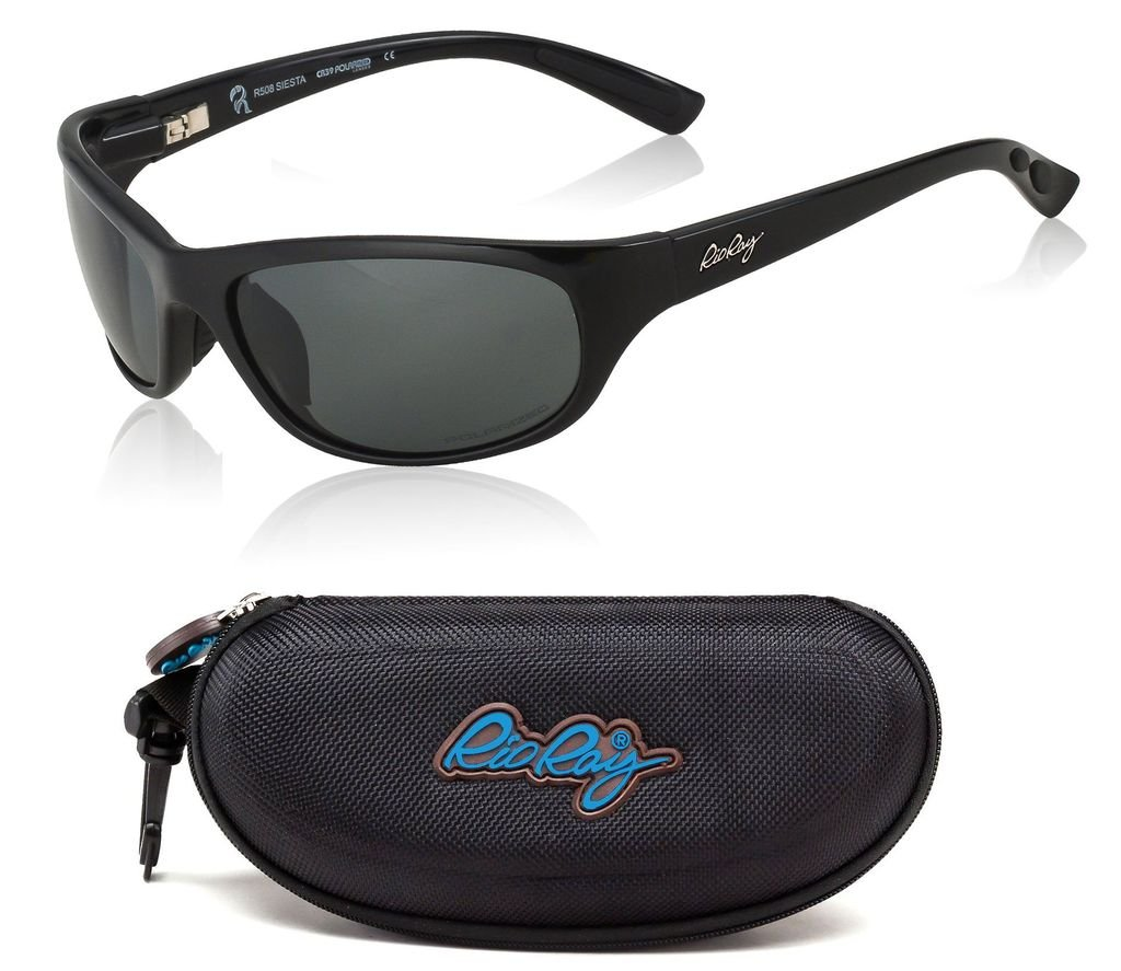 Rio Ray Polarized Sunglasses CR39 High Clarity Optics – RX Prescription Ready – Indestructible TR90 Frame – Hard Coated – Anti-Reflective – Siesta