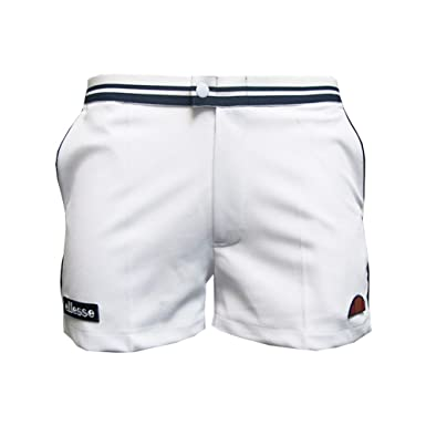 02c010791339 ellesse Mens Tortoreto Short in White at Amazon Men's Clothing store: