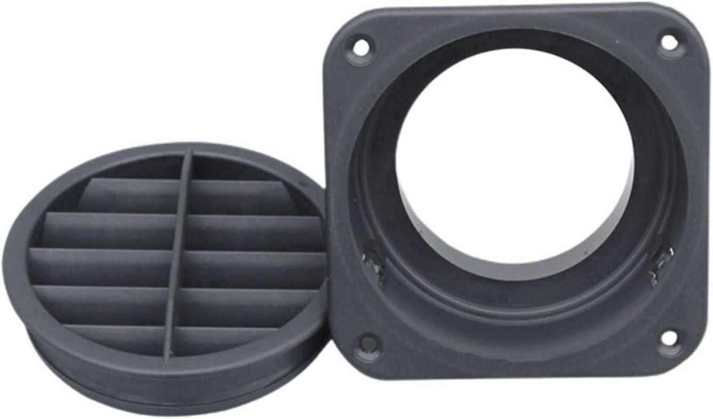 60mm Riscaldatore per Auto Presa Aperta Condotto Presa dAria Calda PW TOOLS Presa dAria ruotabile di 360 Gradi