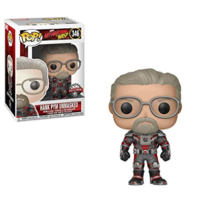 Funko Pop! Marvel #346 Ant-Man & The Wasp Unmasked Hank Pym (Hot Topic Exclusive): Toys & Games