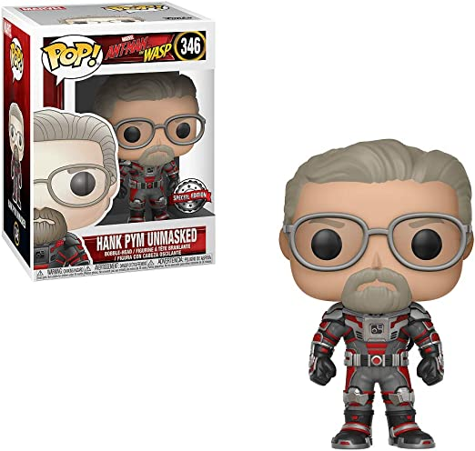 POP PROTECTOR FUNKO POP MARVEL ANT-MAN AND WASP GHOST INVISIBLE #345 EXCLUSIVE