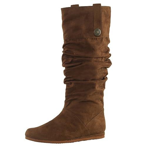 Stiefel Renaissance 104 Braun, EU XL: : Schuhe