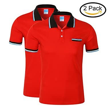 88d77c7b MTTROLI T Shirts Womens, Ladies Polo Shirt Plus Size Casual Sports Gym  Workwear Pack Of 2: Amazon.co.uk: Clothing