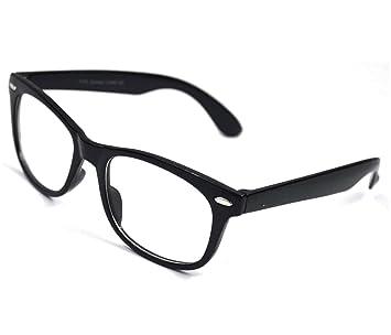 e356050313a Computer Glasses Eye Strain Relief - Clear Wayfarer Glasses - Blue Light  Blocking Glasses - New