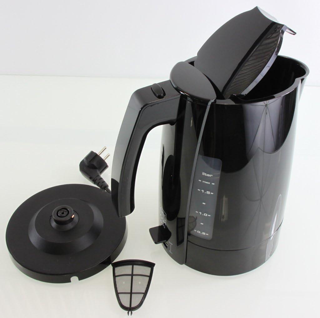 Melitta Look Aqua H205-0202 Wasserkocher schwarz 1,7 Liter