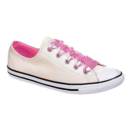 Converse All Star Zapatillas Bajas Dainty Ox Flamenco Rosa