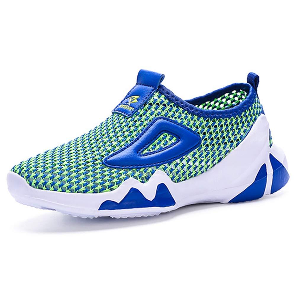 LGXH Hollow Big Boys Girls Sports Sneakers Lightweight Mesh Youth Kids Outdoor Walking Running Shoes