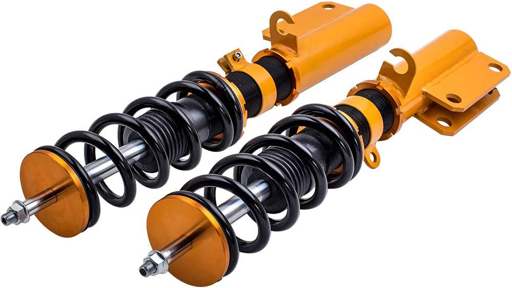 Racing Coilovers Shocks Springs Suspension for BMW X5 E53 2000-2006 Front and Rear 4 Pieces