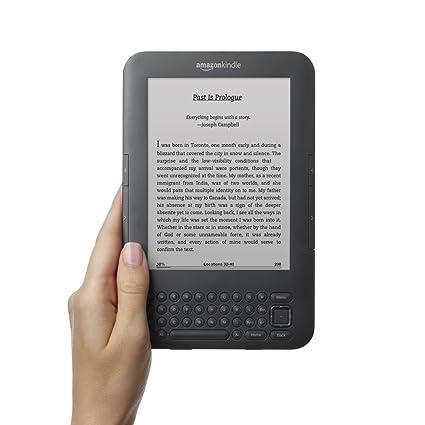 Kindle Keyboard 3G, Free 3G + Wi-Fi, 6