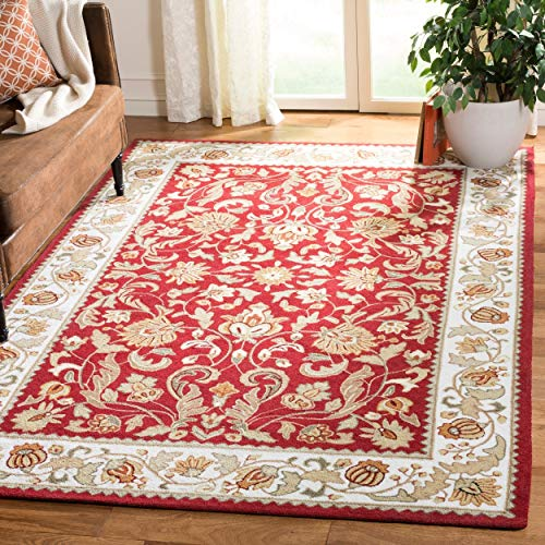Safavieh Area Rug, 6 x 9 , Red