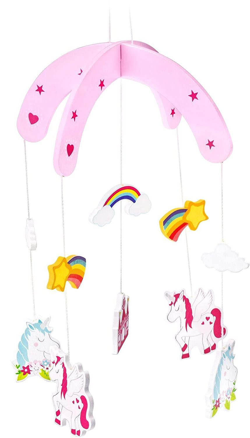 Childrens Unicorn Mobile from mousehouse gifts