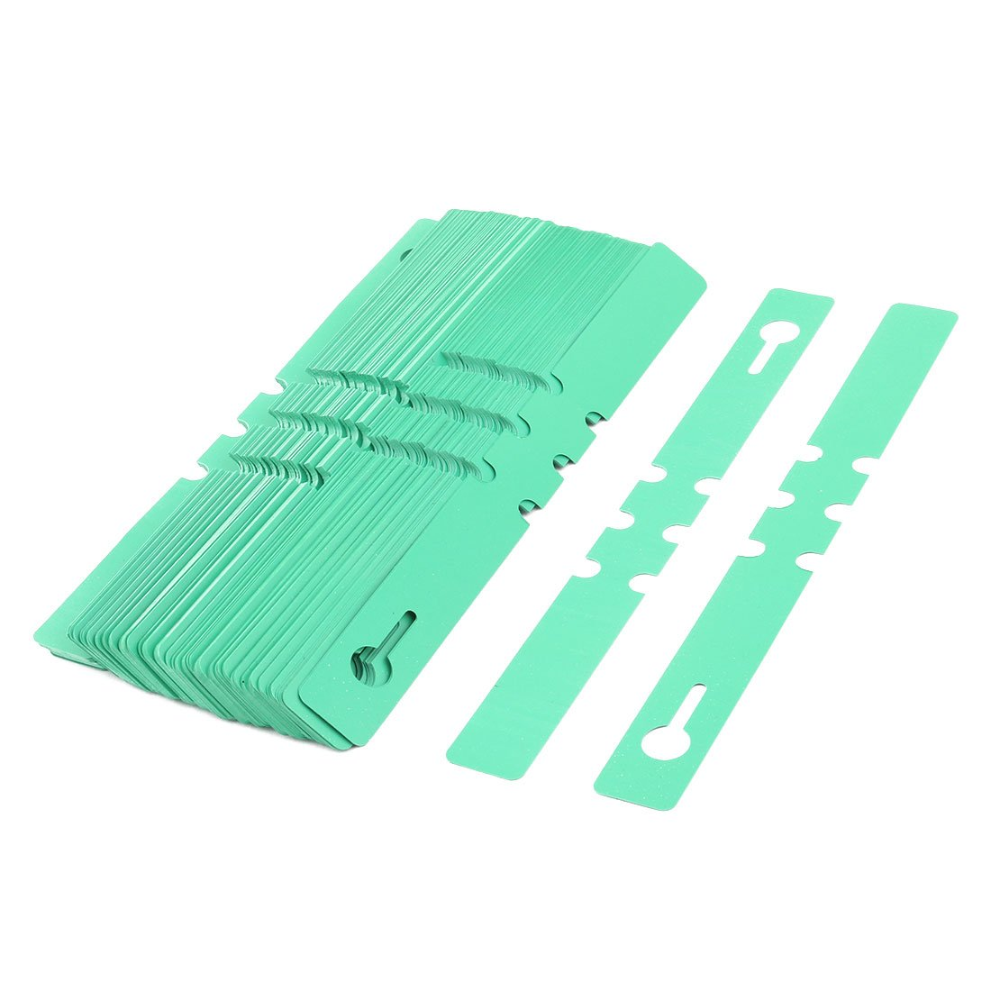 uxcell Plastic Home Outdoor Garden Plant Seed Name Marking Tag Label Marker 200 Pcs Green