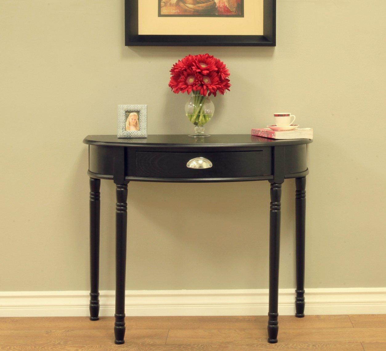Amazon.com: Frenchi Home Furnishing Consola mesa de sofá con ...