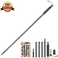 KEYPOWER Hiking Poles Collapsible Lightweight for Walking Poles for Man Women