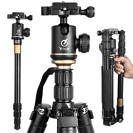 Trípode de viaje ligero para cámara, soporte para proyector ...