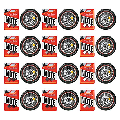 Fun Express Race Car Notepads | 24 Count | Great for Kids Birthday Party, Racing Themed Events, Party Prizes & Favors (E Fun Netbook)