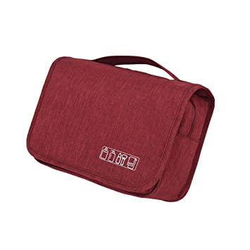 Amazon.com   Toiletry Bag Travel Toiletries Bag Organizer Hanging Cosmetic  Pouch Case Dopp Kit Clear for Women Men 7d6c2ab0e684f