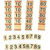 MagiDeal Jouet de Calcul Comptage Jouets Educatifs Bois Jeu Famille Maths Enfants