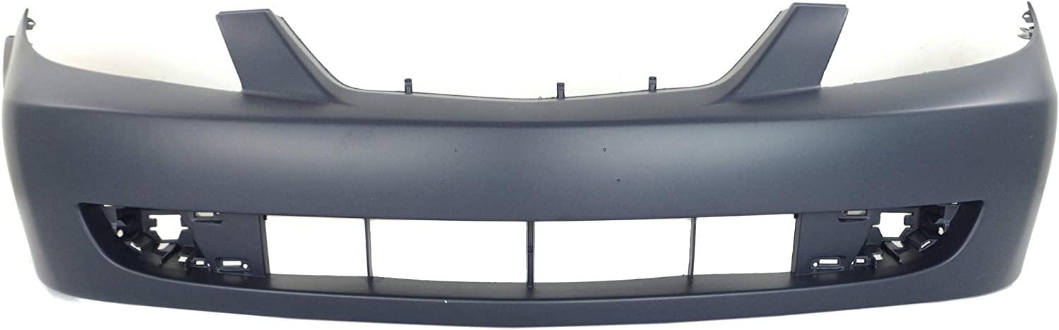 NEW FRONT BUMPER COVER PRIMED FITS 2001-2003 MAZDA PROTEGE SEDAN MA1000180
