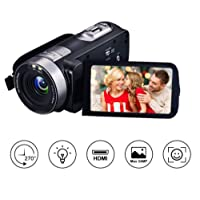Camcorder Camera Digital Camera Video Camera Full HD 1080p 24.0MP Webcam 16x Digital Zoom 3 Inch Screen HDMI Output With Remote Control