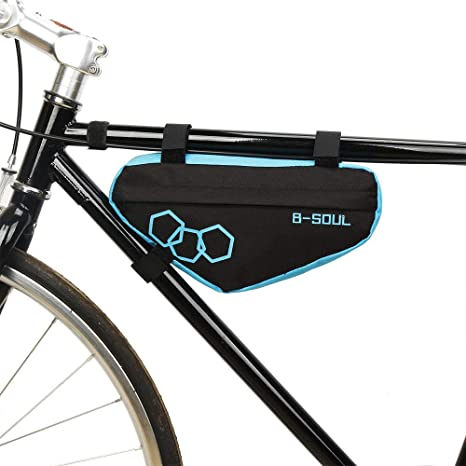 LQUYY - Bolsa Triangular para Bicicleta de montaña, Azul: Amazon ...