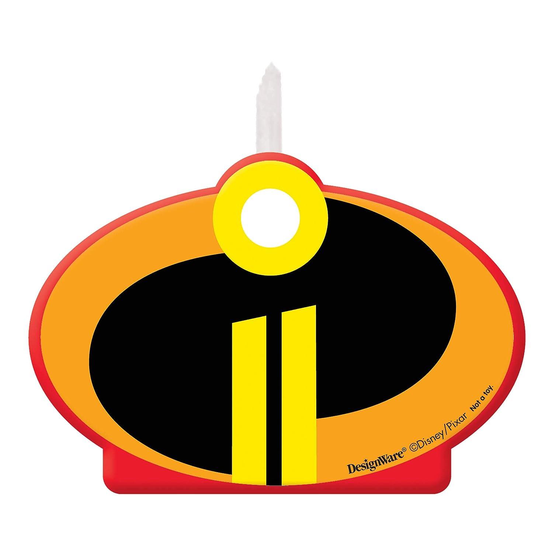 Amscan The Incredibles 2 Alles Gute Zum Geburtstag Torten Kerze
