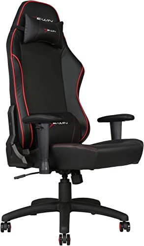 E-WIN Gaming 400 lb Big and Tall Office Chair