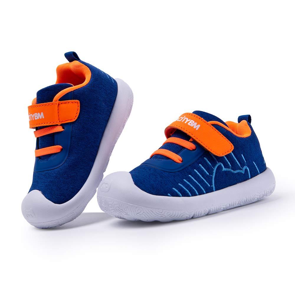 BMCiTYBM Toddler Shoes Kids Walking Casual Blue