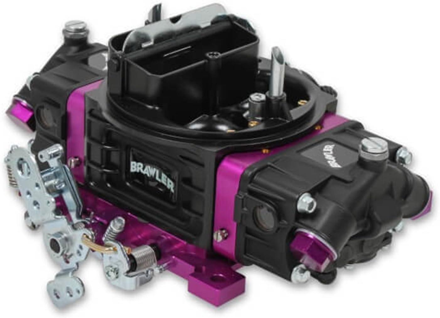Quick Fuel Technology BR-67313 Brawler Street Carburetor 750 CFM Mechanical Secondary Black Brawler Street Carburetor