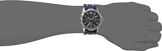 Guess u0366g2 – Armbanduhr Herren, Kautschukband blau