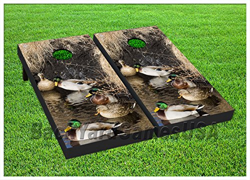 VINYL WRAPS Duck Nature Hunting Cornhole Board DECALS