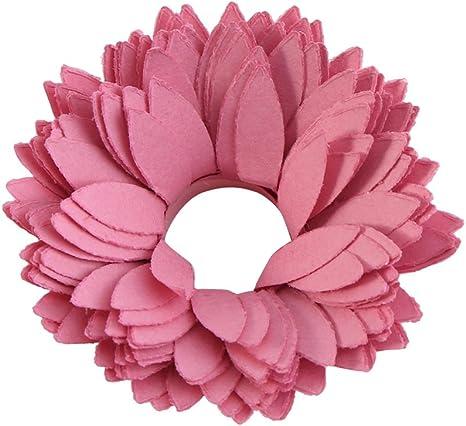 Color Random 20pcs Quilling Paper Flower Design Colorful Kit Rosette Flower DIY Crafts