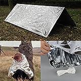 Oenbopo Outdoor Emergency Survive Tent Blanket Multifunctional Hiking Sleep Self-Rescue Blanket Keep Warmer