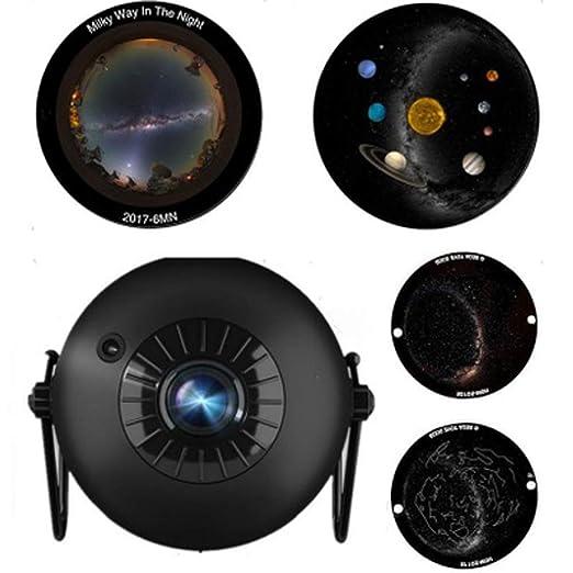 Proyector de luz Nocturna giratoria, proyector de Estrellas ...
