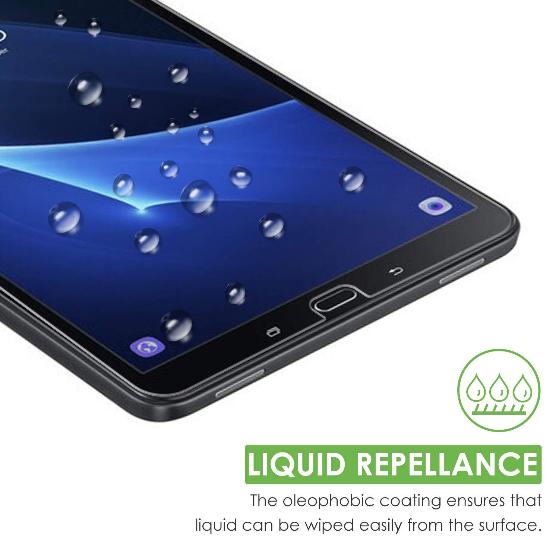 10,1 Zoll 3 St/ück apiker Schutzfolie f/ür Samsung Galaxy Tab A T580 // T585 ,Samsung Galaxy Tab A 10.1 Panzerglas mit 9H H/ärte,Bl/äschenfrei,2.5D abgerundet Kante,einfach anzubringen