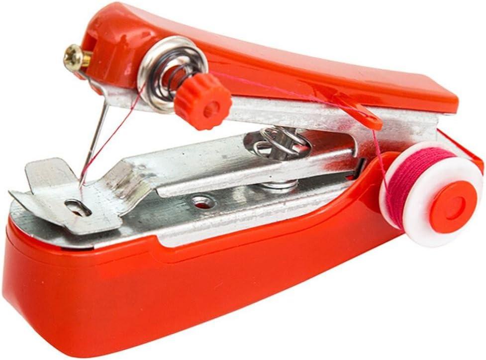 Mini máquina de coser, Hunpta portátil de agujas inalámbricas Mini ...
