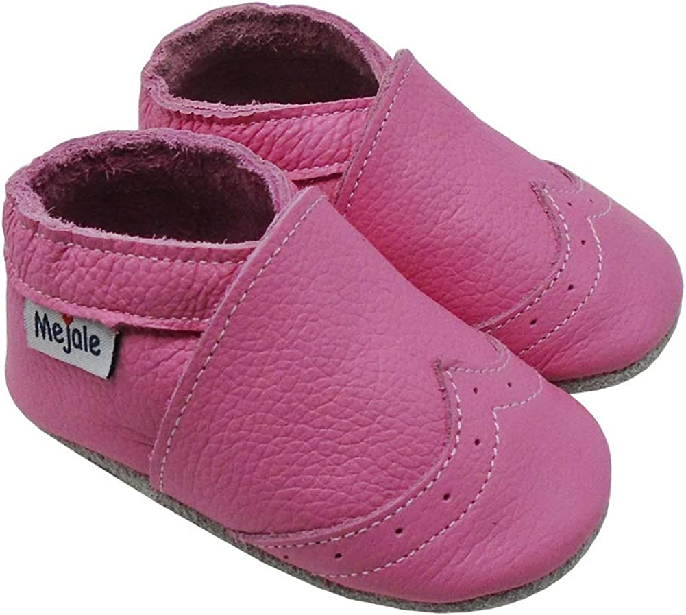 Mejale Soft Sole Leather Baby Shoes