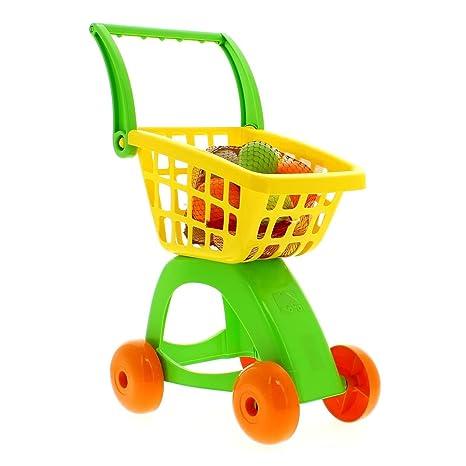 MOLTO y Cía - Carro de compras con accesorios, 58 cm