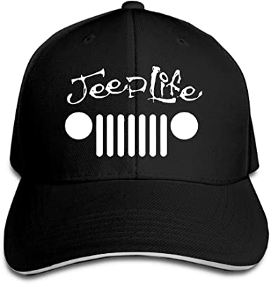 Mako algodón Jeep Wave Handprint parrilla Wrangler Club gorras de ...