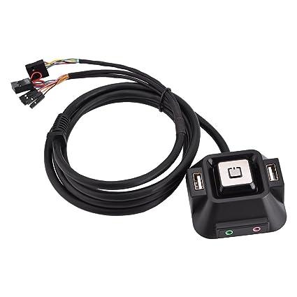 Amazon com: Richer-R Desktop Power Button Module Switch for