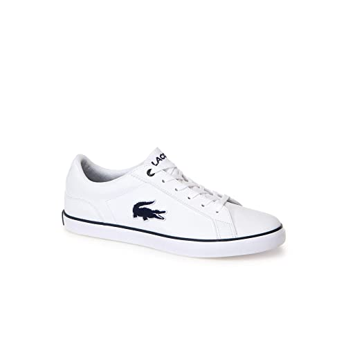 10f1996a7cc4a Lacoste Lerond 318 2 White Navy Synthetic 37 EU  Amazon.co.uk  Shoes ...