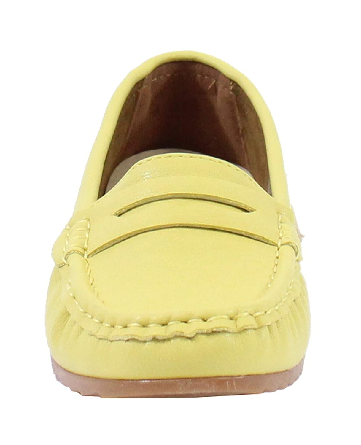 Femme By Shoes Mocassin Style Cuir