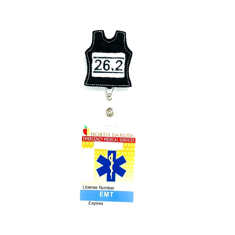 Marathon Bib Retractable Badge Reel