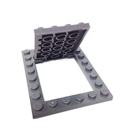 Lego Parts: Plate, Modified 6 x 8 Trap Door Frame Horizontal with ...