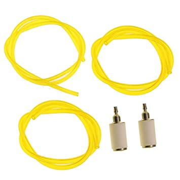 61oRJ3wDzNL._SX355_ amazon com hipa (3 size) 2 feet long fuel line hose tube with fuel