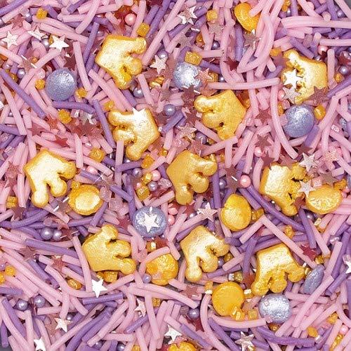 Princess Sprinkles Gluten GMO Nut Dairy Soy Free Sprinkles Medley